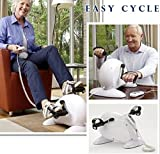 Dragon Fitness Cycle ,Pedal exerciser Portable Arm Leg Mini Active Cycle, Mini Exercise Machine Indoor Home Gym Cycling Trainer Equipment