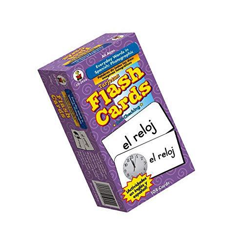 Carson-Dellosa Everyday Words in Spanish / Palabras de Todos Los Días Flash Cards (Limited Edition)