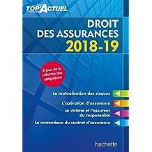 Top'Actuel Droit des assurances 2018-2019 (Top' Actuel) (French Edition)