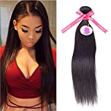 Punzel's 10-30 Inches Brazilian Virgin 7A 100% Human Hair Extensions, Pack of 1,100g/Bundle, Natrual Color STW
