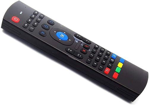 Rehomy Control Remoto de Teclado Inalámbrico 4 en 1 Air Mouse para Android Box Smart TV Mx3: Amazon.es: Electrónica