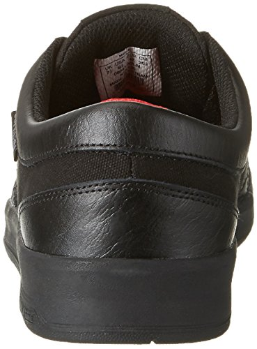 Black Black Round Black Leather Men Ineto Toe Supra Skate Shoe znBPqw
