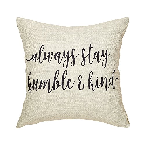 Fjfz Rustic Always Stay Humble and Kind Lifestyle Sign Farmhouse D