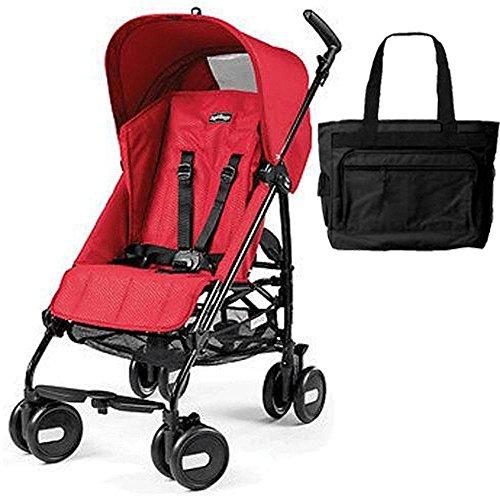 stroller pliko mini mod red with bag