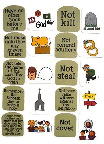 Ten Commandments Felt Board Story
