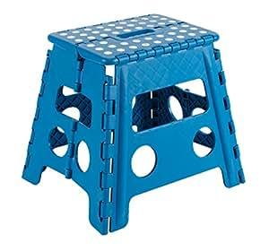 Arregui TB-032-A TB-032-A-Taburete Plegable 29x22x32cm, Azul, 320x290x220 mm