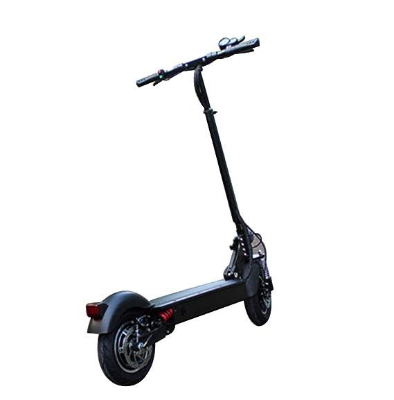 Amazon.com: LHY Riding - Patinete eléctrico plegable para ...