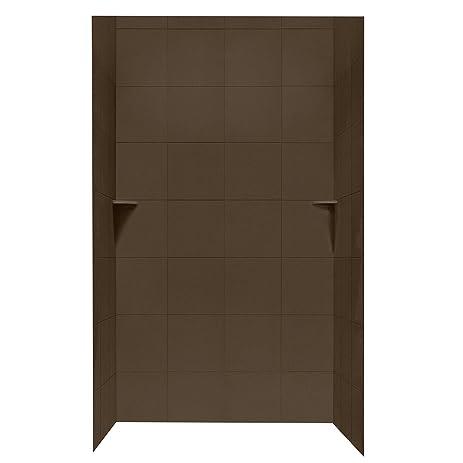 Swanstone SQMK963648.123 Square Tile Shower Kit, 36\