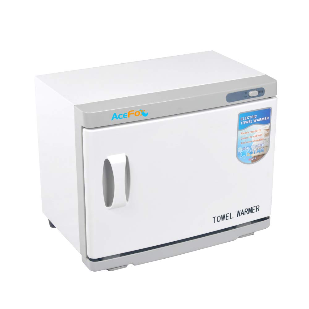 Professional Towel Warmer Cabinet, UV Sterilizer 2 in 1, Use for SPA, Hair Beauty, Salon and Home, 23L High Capacity, Hold 40-60 Towels by AceFox