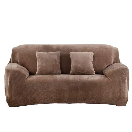 Monba Fundas gruesas para sofás de 1 2 3 4 asientos, Color ...
