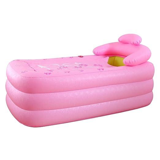 LYZ IB Bañera Hinchable Plegable Bañera De PVC para Adultos ...