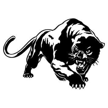 Velidy car decal stickers fiery wild panther hunting car body decal for auto window sticker decal