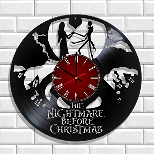 The Nightmare Before Christmas wall clock made from real vinyl, The Nightmare Before Christmas poster Review