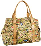 Sydney Love Women's 20901 20901 Botanical Overnight Bag,Multi,One Size, Bags Central