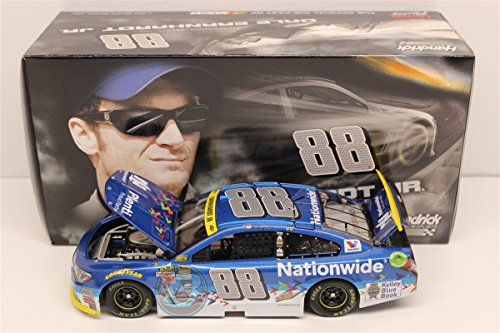 Lionel Racing Dale Earnhardt Jr #88 Nationwide Insurance Plenti 2015 Chevy SS NASCAR 1:24 Scale Diecast Car