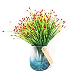 Yunuo-6PCS-Mini-Fruits-Grasses-Plants-Artificial-Flowers-for-Home-Wedding-Party-Decor-red