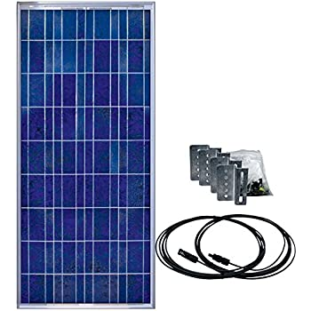 Amazon Com Samlex Solar Ssp 150 Kit 150 Watt Solar Panel