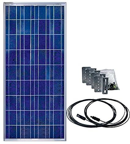 Amazon com: Samlex Solar SSP-150-KIT 150 Watt Solar Panel Kit