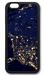 America Space Nice Map Thanksgiving Halloween Masterpiece Limited Design TPU Black Case for iphone 6 by Cases & Mousepads