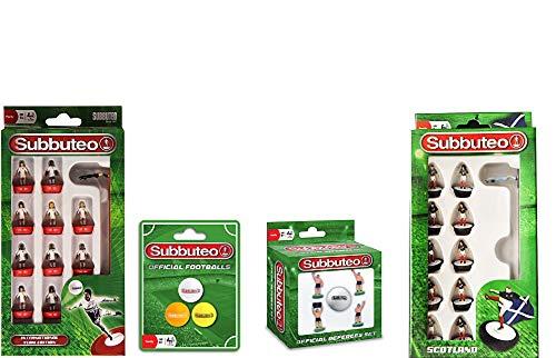 Green//White Subbuteo 3465 Player Set