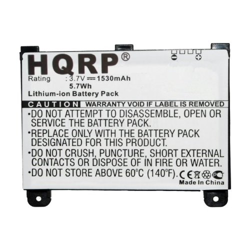 HQRP Battery for Kindle 2 Reading Device, US Wireless 2nd Generation Model  D00701 S11S01B C05S01H0024N23 B003B0A294563B74 B003 WiFi Digital Book