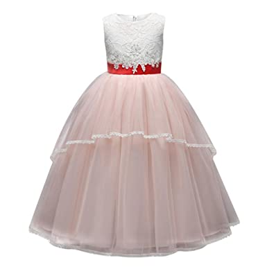 URSING Blume Baby Mädchen Brautjungfer Festzug Kleid Geburtstag ...