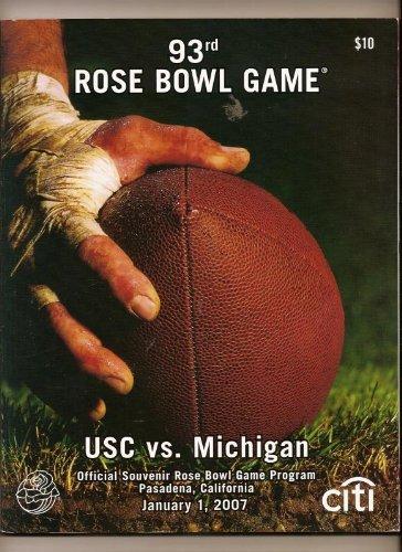 2007 Rose Bowl Game Program USC ()
