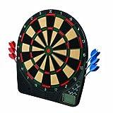 Franklin Sports Electronic Dartboard - Ready to Play Digital Dartboard - Soft Tip Darts - 13.5'