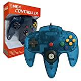 Old Skool Classic Wired Controller Joystick for Nintendo 64 N64 Game System - Turquoise