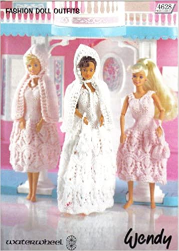 Sindy Fashion Doll Bride And Bridesmaids Outfits Wendy Knitting