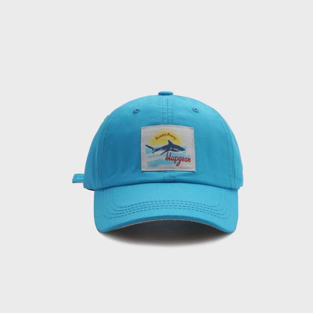 Gorra de béisbol Shark Gorra Suave y Salvaje para Hombre, Azul ...
