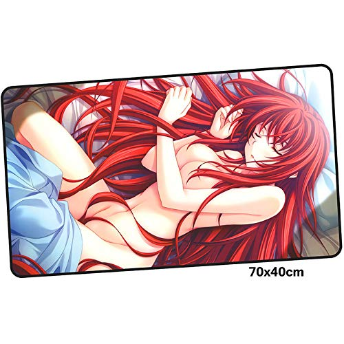 XIAOXIANNV High School DxD Mouse Pad Gamer 700X400Mm Notbook Mouse Mat Large Gaming Mousepad Large Halloween Pad Mouse Pc Desk Padmouse