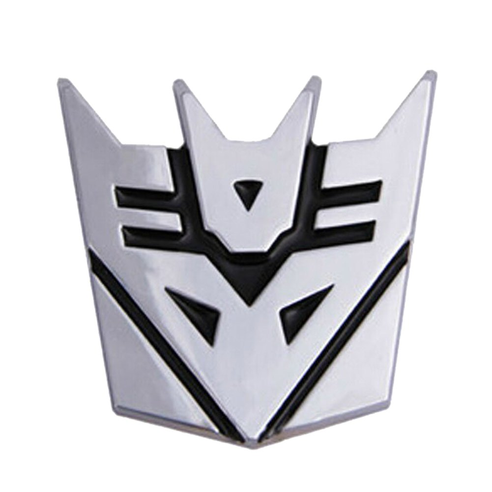 Dodolive Auto Dekoration Transformers Aufkleber Logo Metall 3D Autobot Emblem Badge Aufkleber Truck Auto Styling Car Styling Covers BestAuto FBA_BE-carsticker-JGBP