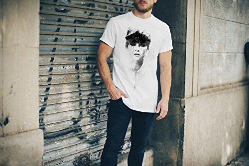 Michelle Dockery T-Shirt Herren, Men mit stylischen Motiv von Paul Sinus