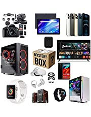 Mystery Box Electronic,Verrassingsartikelen, Geschenken, Mobiele Telefoons, Slimme Horloges, Elektronische Producten, Gamepads, Bluetooth-headsets