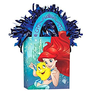 Mini Tote Balloon Weight Disney Ariel Dream Big Collection Party Accessory