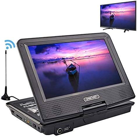 DVDドライブ DVDプレーヤーカーテレビ9.8インチプレーヤー液晶画面のサポートテレビゲームDVD VCD CD MP3 YYFJP