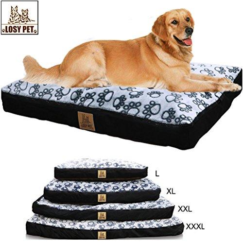 LOSY PET PERDIDO Cinco Caras Impermeable Cama para Perros Grande Lavable Mat Jumbo Grande Pet Faux Suede Felpa con Extra: Amazon.es: Hogar