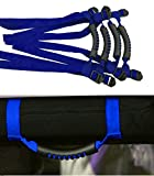 Automotive : Danti 4 x Grab Handles Grip Handle For Jeep Wrangler YJ TJ JK JKU Sports Sahara Freedom Rubicon X & Unlimited X 2/4 door Roll Bar 1995-2016 (Blue)