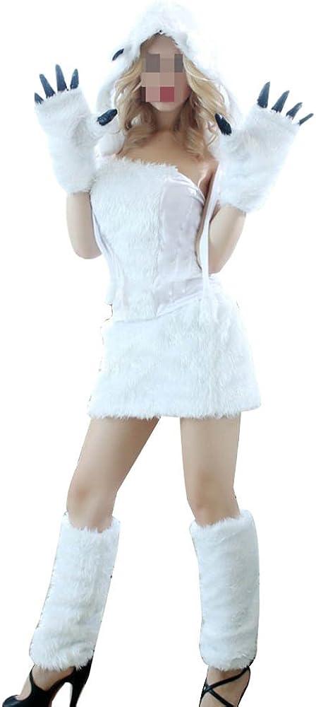 Adulto Traje Disfraz Animal Mujer Mini Vestidos Disfraces Fiesta ...