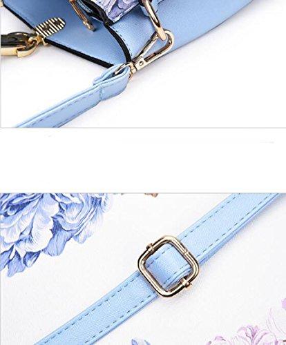 Diagonal Paquete De Hombro Manera De De La Peony Pink Simple Moda La Impreso 1ZnqdfZw