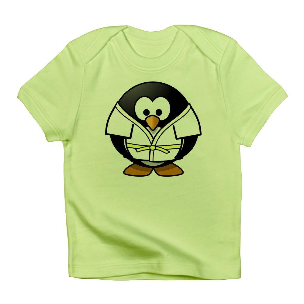 Truly Teague Infant T-Shirt Little Round Penguin Martial Arts Karate Judo 0 To 3 Months Kiwi