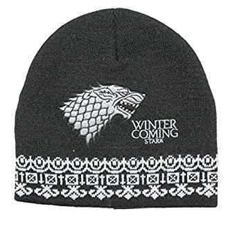 Game of Thrones Stark Beanie Black