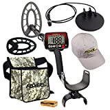 Fisher F44 Holiday Metal Detector Package with Free Accessory Bundle
