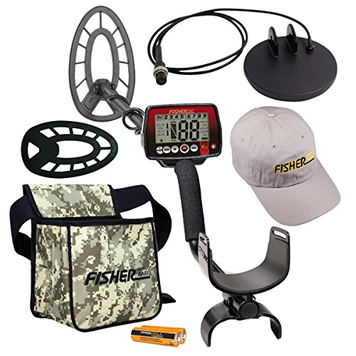 (Fisher F44 Holiday Metal Detector Package with Free Accessory Bundle)