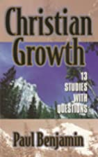 Christian Growth 13 Studies with Questions…