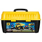 Toy State Caterpillar CAT Apprentice Ultimate Machine Maker Dump Truck with Wheel Loader and Excavator Construction Building Vehicles