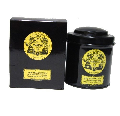 Mariage Freres, PARIS BREAKFAST TEA® Flamboyant black tea for breakfast with citrus notes