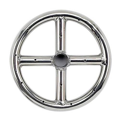 Diameter Stainless Steel Fire Ring (Stainless Steel Fire Pit Burner Ring (6