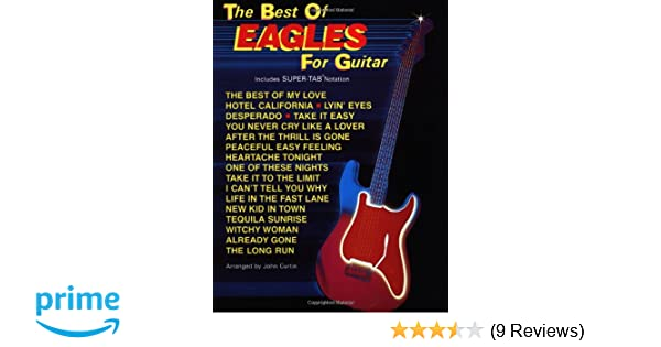 Amazon.com: The Best of Eagles for Guitar (The Best of... for Guitar ...